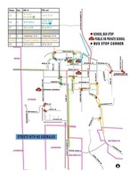 New Bus Stops Available in Village of Athens