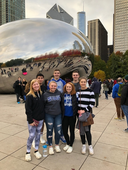 FBLA Students touring Chicago