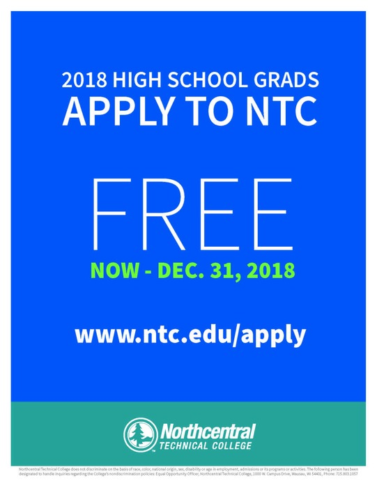 Free Application for 2018 Graduates