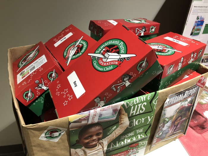 FCA Operation Christmas Child