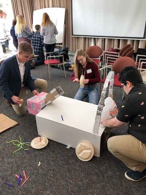 Athens High School Students took part at the Wisconsin Business World