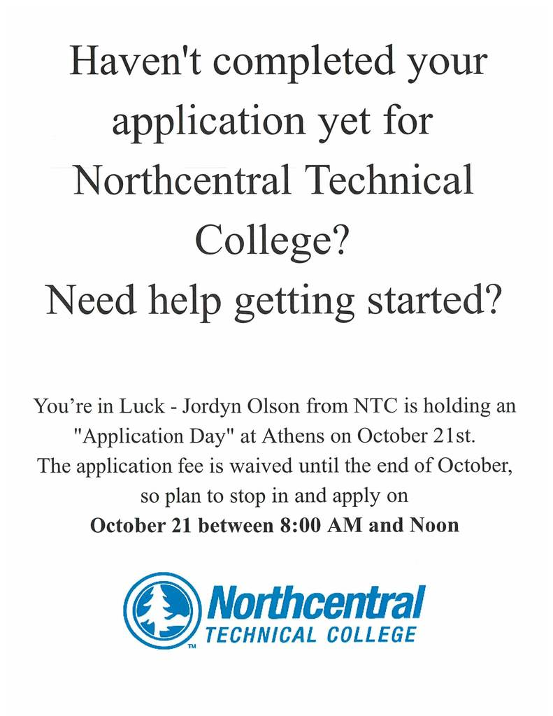 NTC Application Day