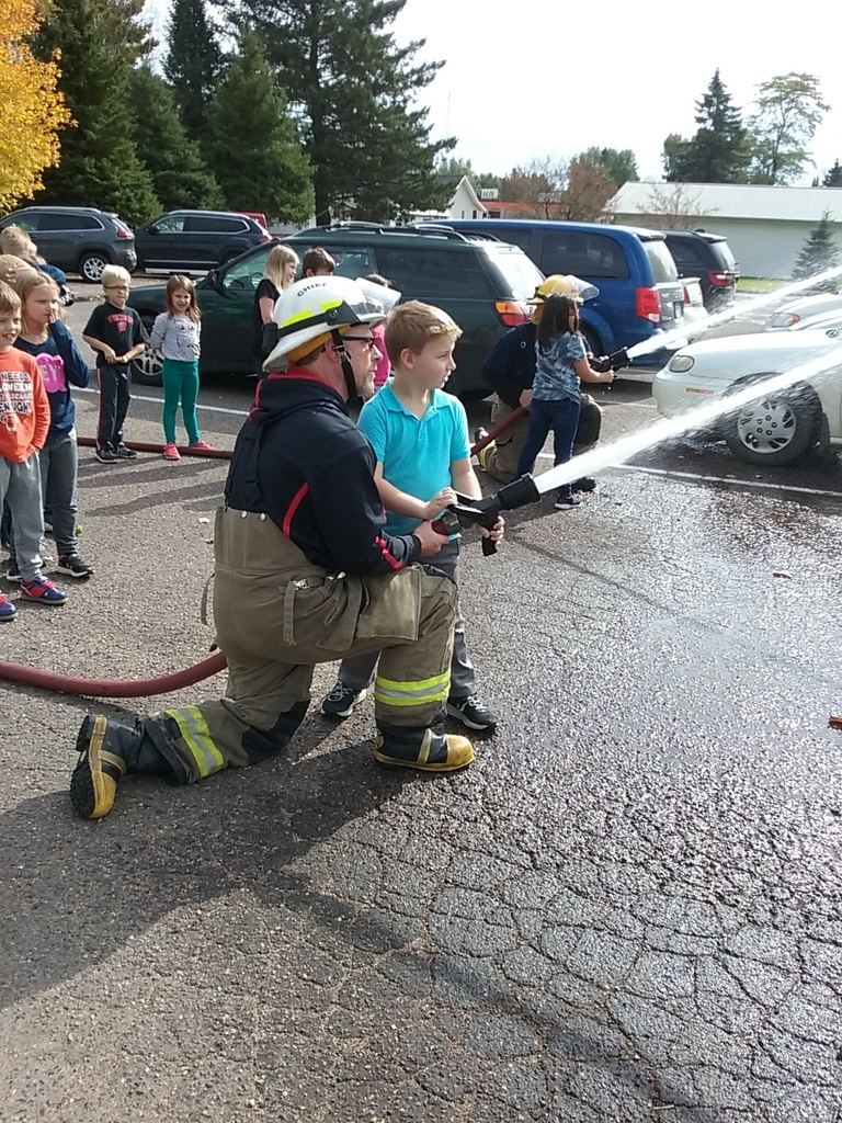 2nd grade fun with our firemen!