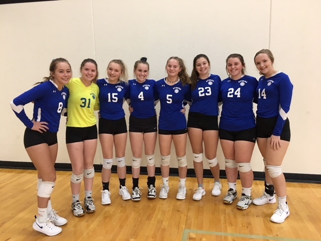 Great job JV volleyball team!