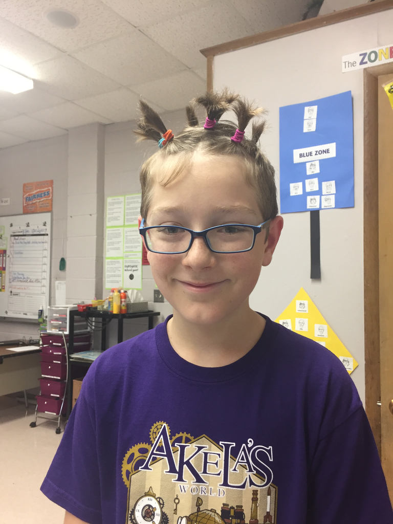 5th grade wacky hair day