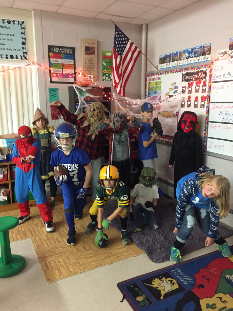 5th grade Halloween Fun!