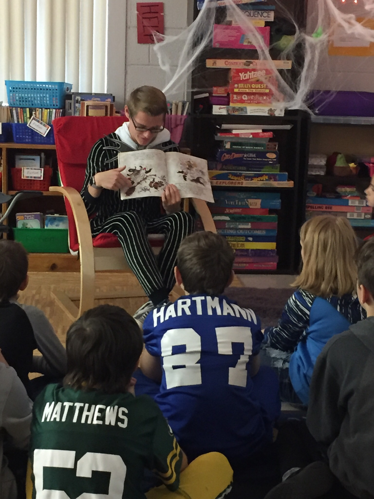 Andrew Hartmann Reading to 5th grade