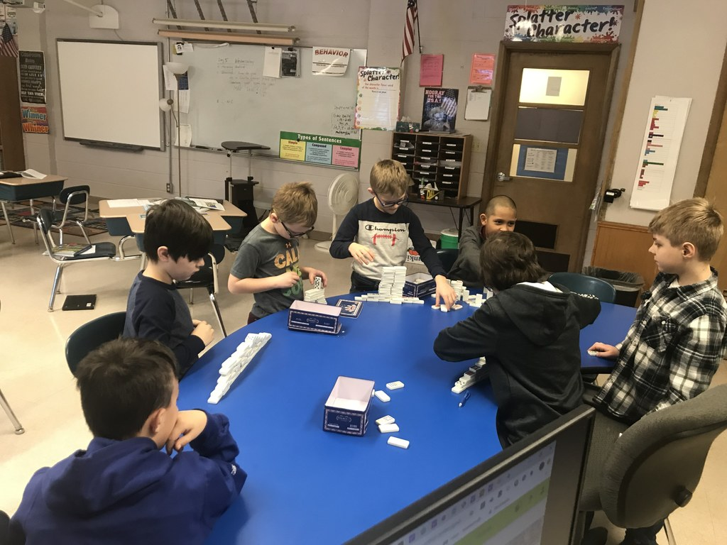 Check and Connect Domino Pyramid Challenge With Mr. D