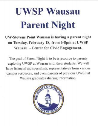 UWSP Wausau Parent Night